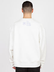 We Miss You Crewneck Washed Creamy White