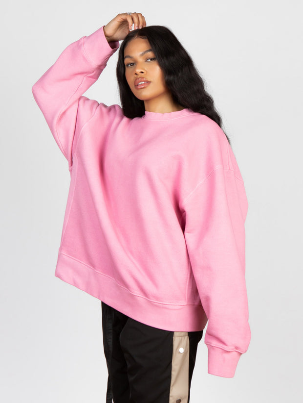 Cutler Crewneck Washed Strawberry Swirl - Maskulin.de Shop