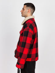 The Trenches Lumber Jacket Red&Black