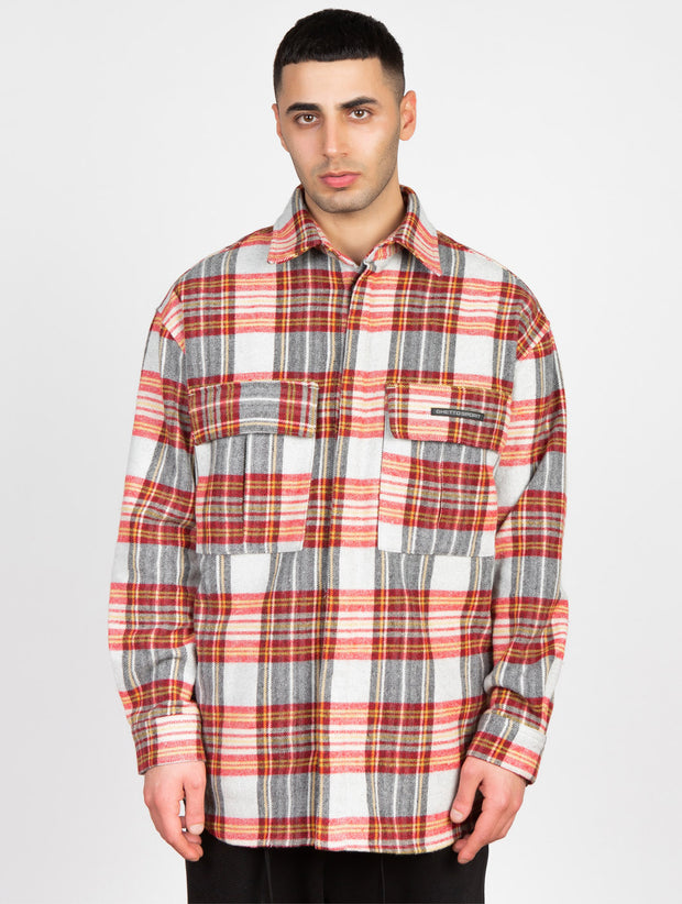 Trencho Jack Heavy Flanell Shirt Red