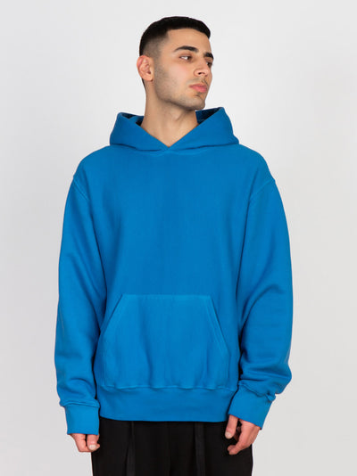 Wheeler Hoodie Washed Visionary Blue - Maskulin.de Shop