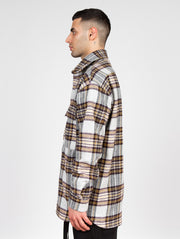 Trencho Jack Heavy Flanell Shirt Purple