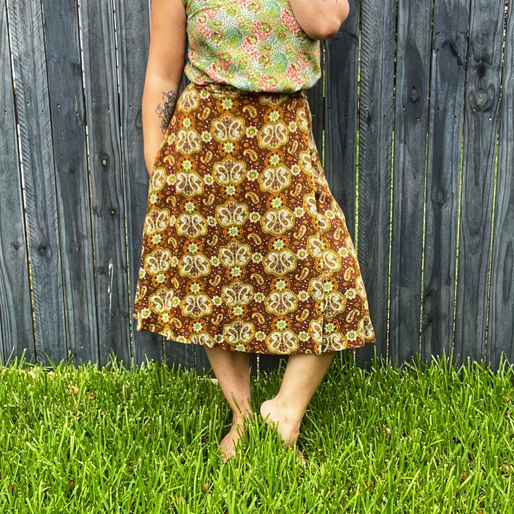 Velma Wrap Skirt M - XL