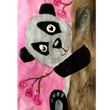 Kids First Steps Peek-a-Boo Panda Kit