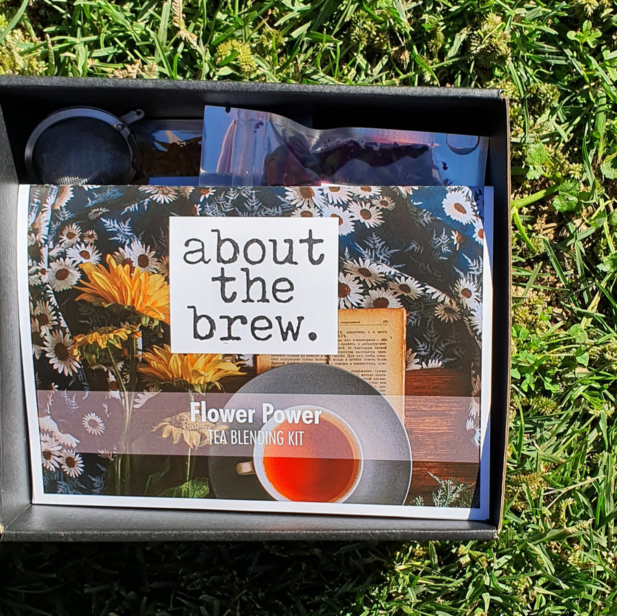 Flower Power Tea Kit