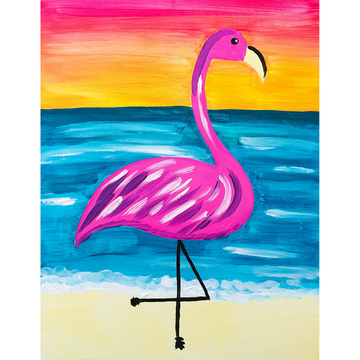 Kids First Steps Beach Flamingo Kit