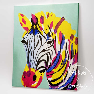 'Brilliant Zebra' DIY Paint Kit