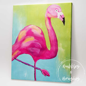 'Flaming Flamingo' DIY Paint Kit