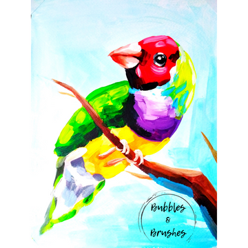 Kid's Parrot DIY Paint Kit