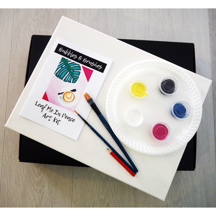 'Leaf Me In Peace' DIY Paint Kit