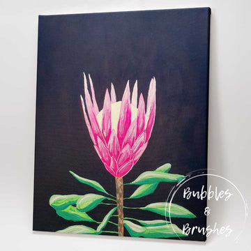 'The Midnight Protea' DIY Paint Kit