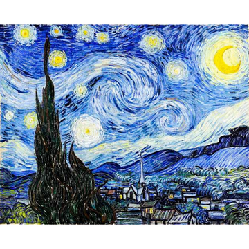 'Van Gogh's Starry Night' DIY Paint Kit