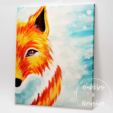 'Winter Fox' DIY Paint Kit