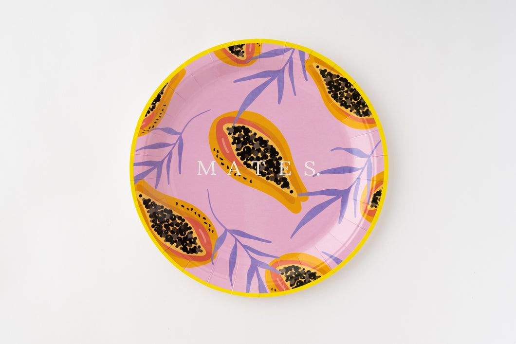 Fruits Trip Papaya large plate(10枚入)
