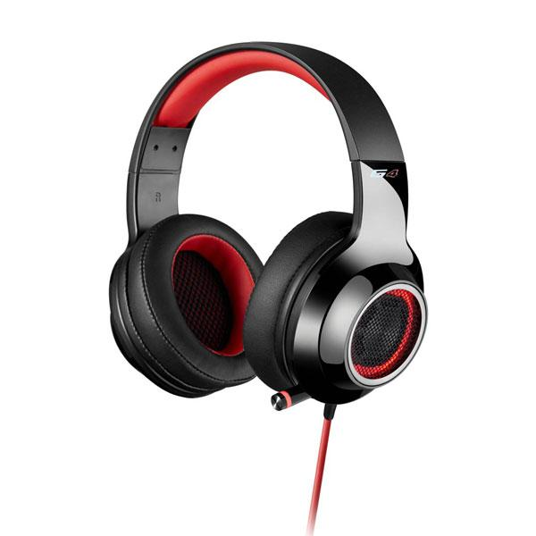 EDIFIER G4 7.1 Virtual Surround Sound Gaming Headset - Red