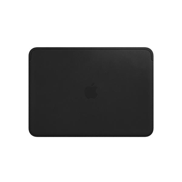 Leather Sleeve for 12?inch MacBook ? Black