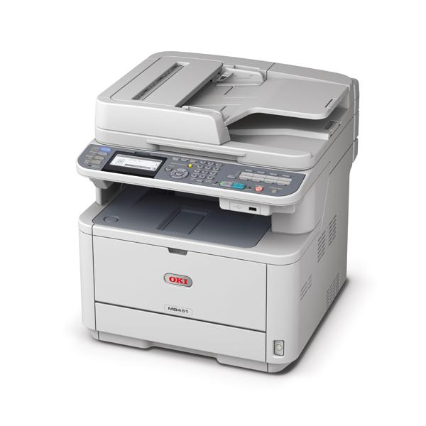 OKI MB451dnw A4 Mono Multifunction Printer