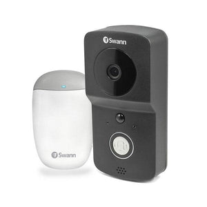 Swann Wireless 720p Video Doorbell with Chime