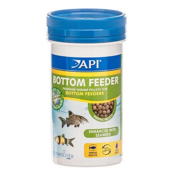 API Bottom Feeder Premium Shrimp Pellet Food - 4 oz - Giftscircle