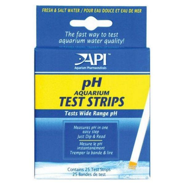 API pH Test Strips - 25 Strips - Giftscircle