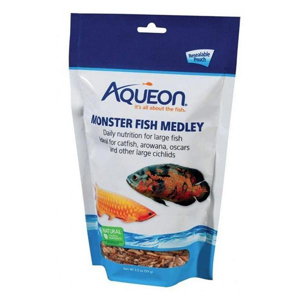 Aqueon Monster Fish Medley Food - 3.5 oz - Giftscircle