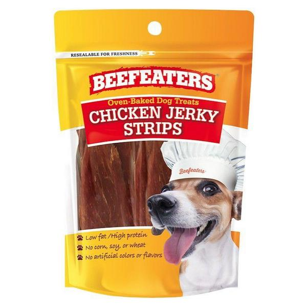 Beafeaters Oven Baked Chicken Jerky Strips Dog Treat - 1.65 oz - Giftscircle