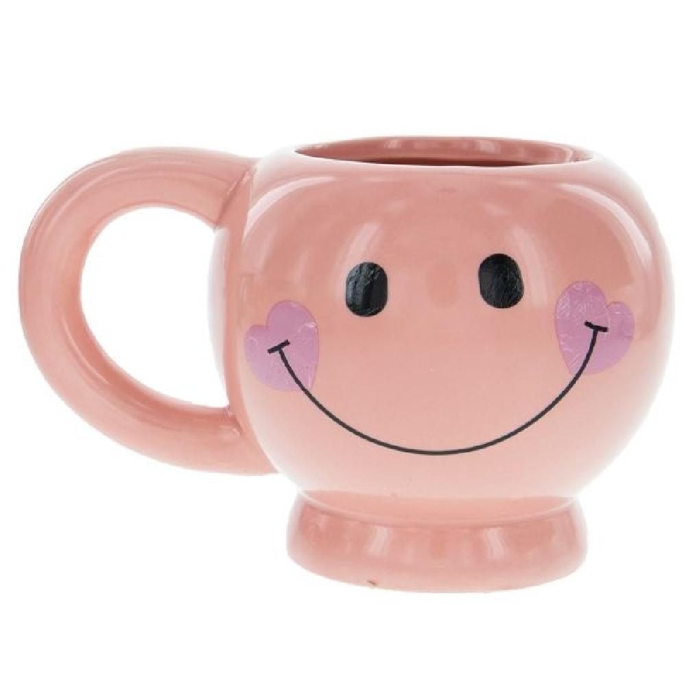 Ceramic Smiley Face Mug - Giftscircle