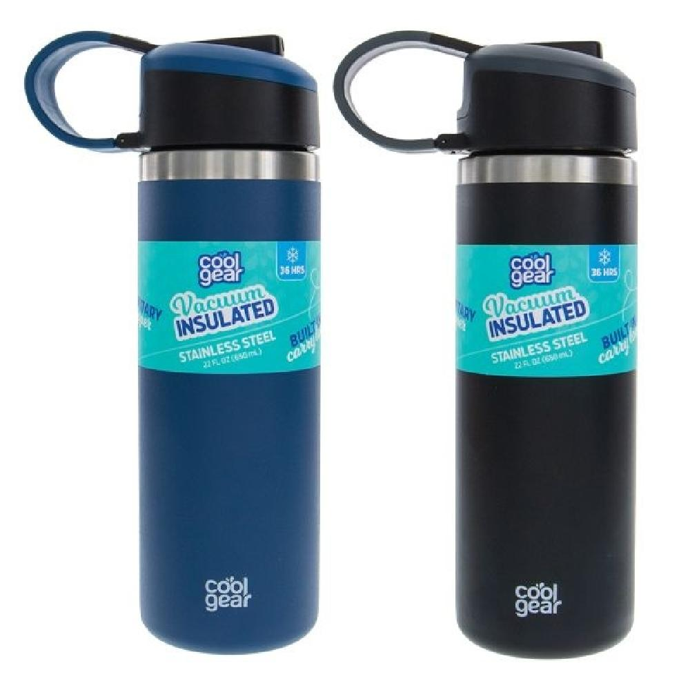 Cool Gear Stainless Steel Water Bottle with Sipper Cap - Giftscircle