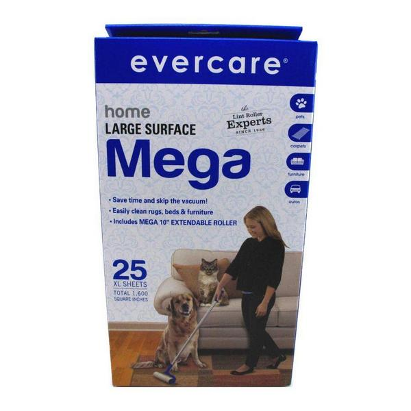 Evercare Home Large Surface Mega Lint Roller - 1 Pack - Giftscircle
