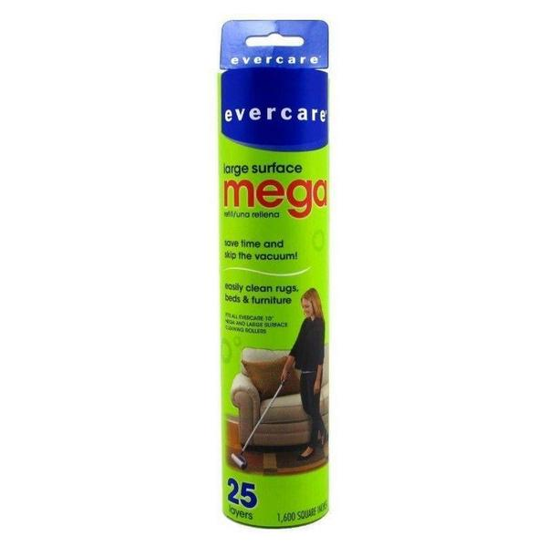 Evercare Mega Cleaning Roller Refill - 25 count - Giftscircle