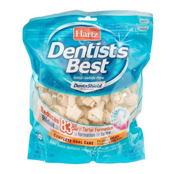 "Hartz Dentist's Best Bones with DentaShield - 2"" Long (40 Pack) - Giftscircle"