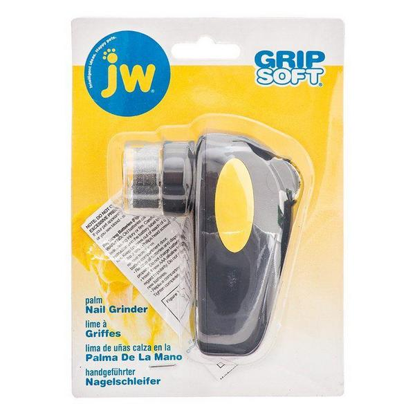 "JW GripSoft Palm Nail Grinder for Dogs - Palm Nail Grinder - (4"" Long) - Giftscircle"