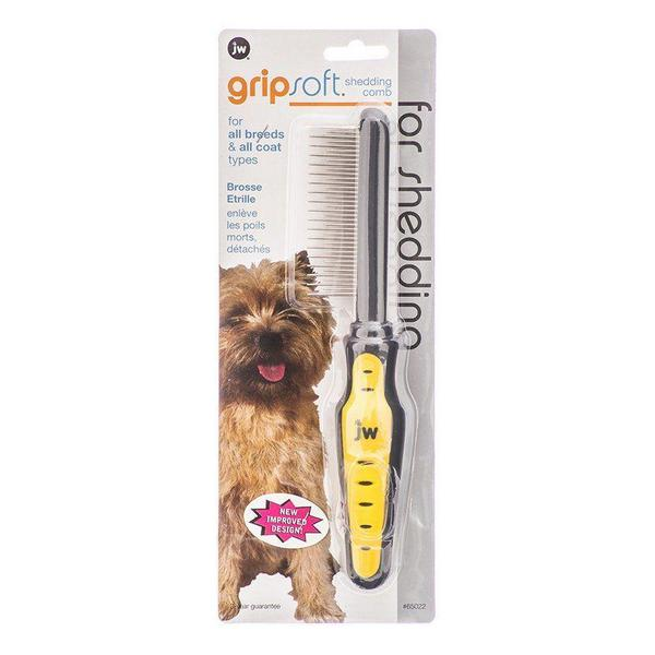 JW Gripsoft Shedding Comb - Shedding Comb - Giftscircle