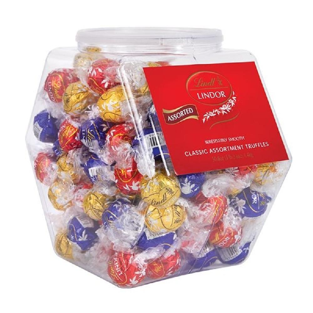 Lindt Lindor Truffles Changemaker Tub Mix Flavors - 120 Count - Giftscircle
