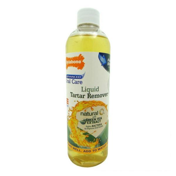 Nylabone Advanced Oral Care Liquid Tartar Remover with Green Tea Extract - 16 oz - Giftscircle