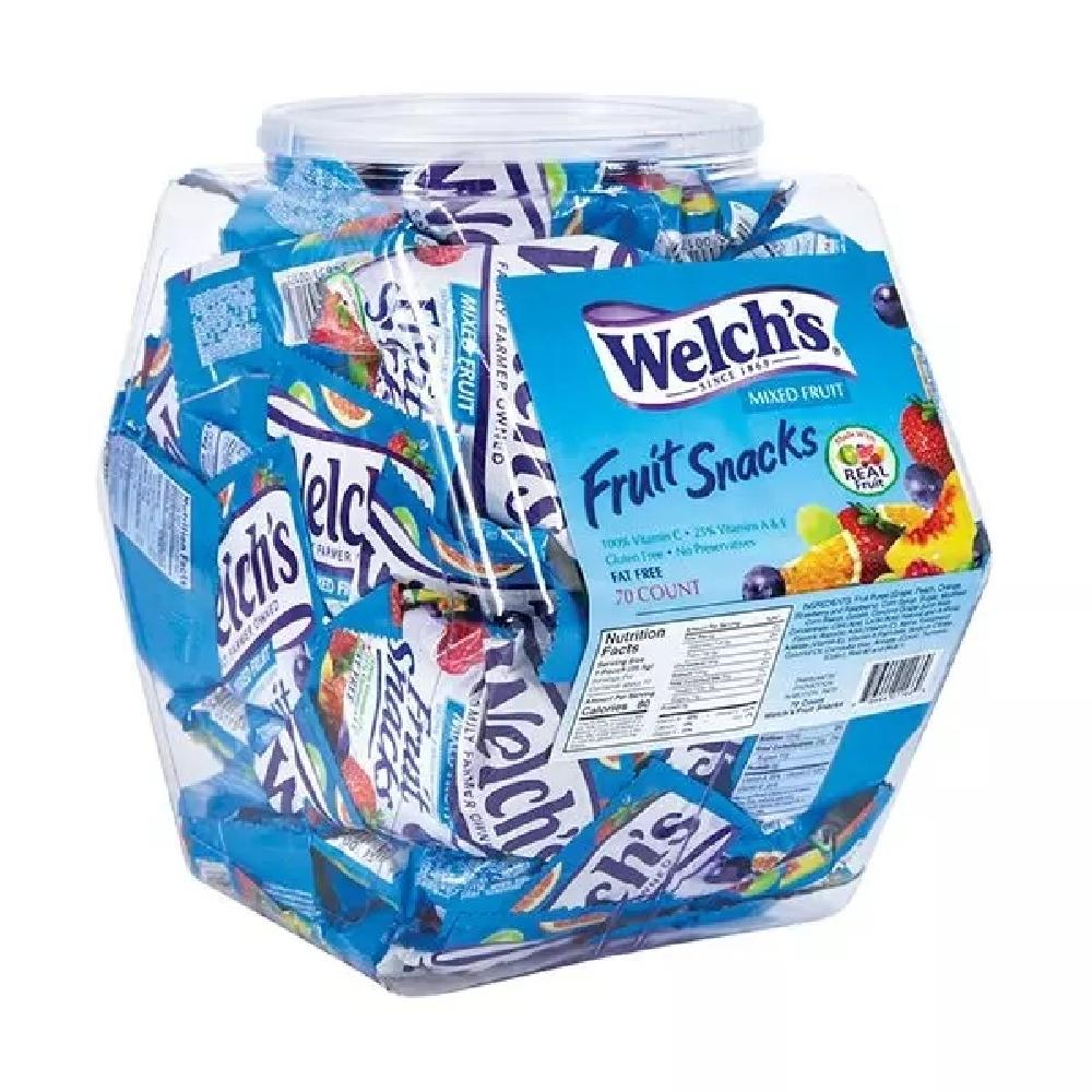 Welch's Mixed Fruit Snacks Changemaker Tub - Giftscircle
