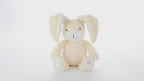 Load and play video in Gallery viewer, Peek-a-boo Bunny Stuffed Animal With Sound and Motion, 7.5""