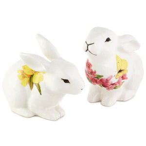 Marjolein Bastin Bunny Salt & Pepper Shakers, Set of 2
