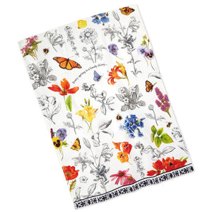 Load image into Gallery viewer, Marjolein Bastin Blooms Tea Towel