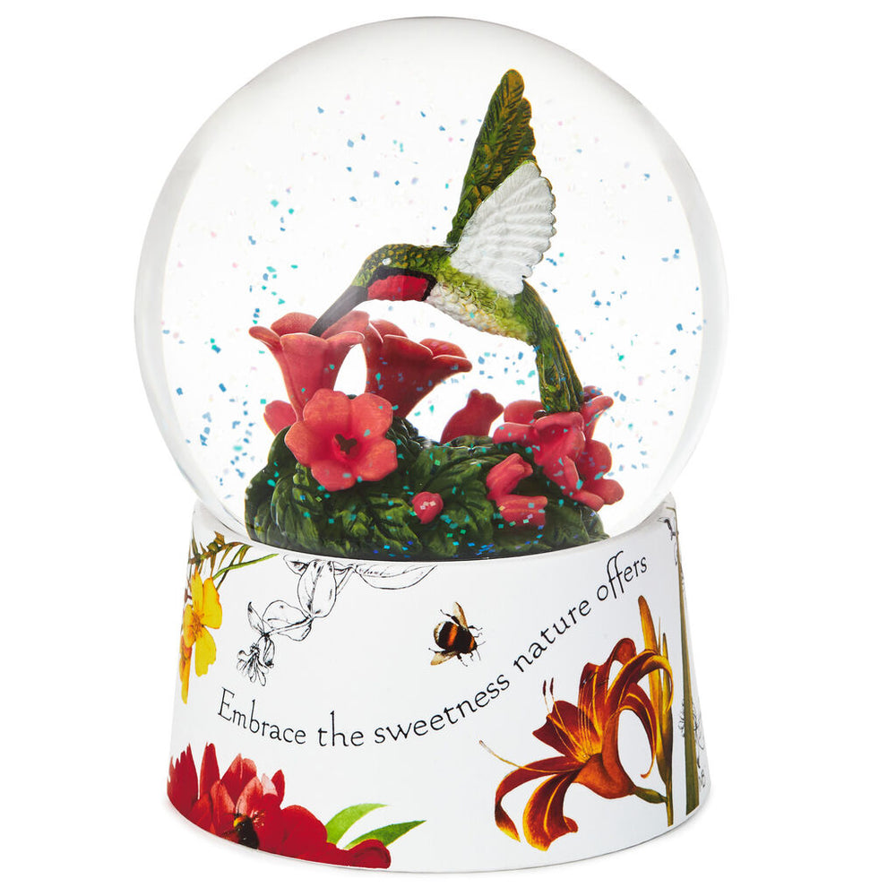 Load image into Gallery viewer, Marjolein Bastin Hummingbird Snow Globe