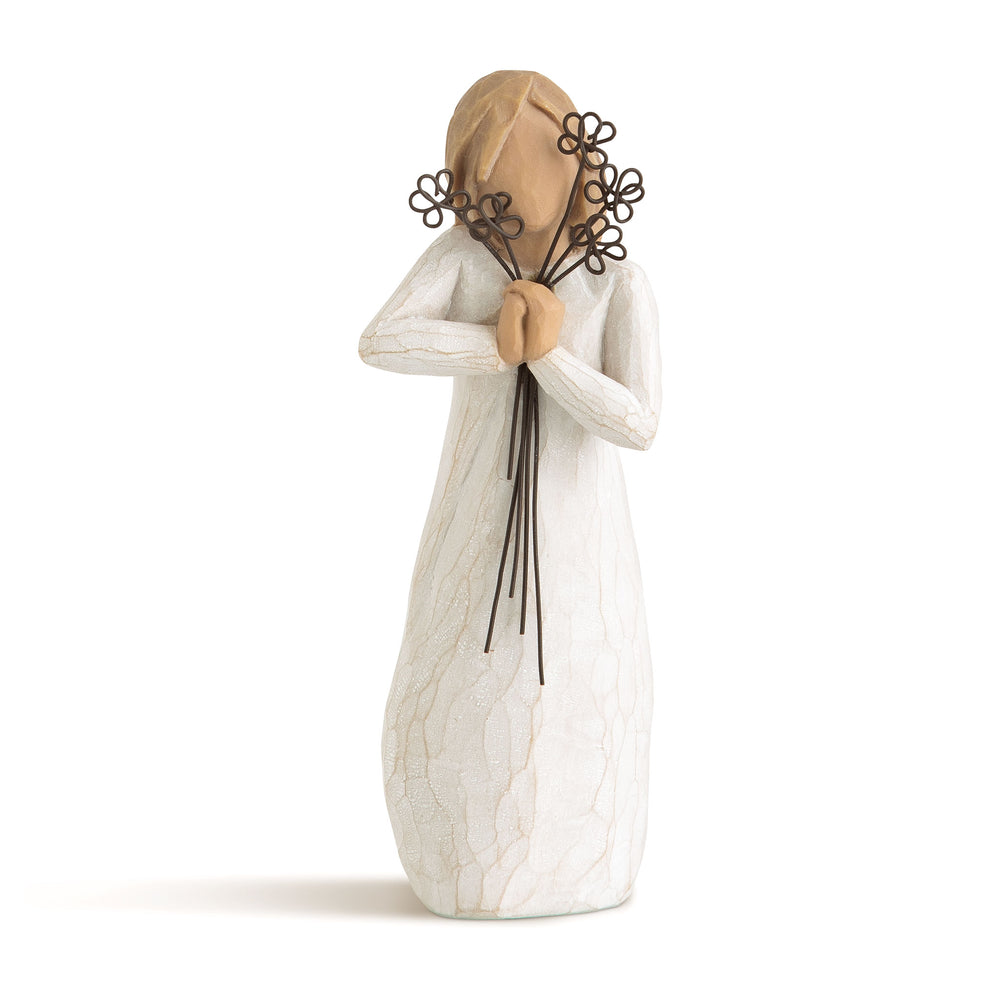 Willow Tree Friendship and Flowers Figurine