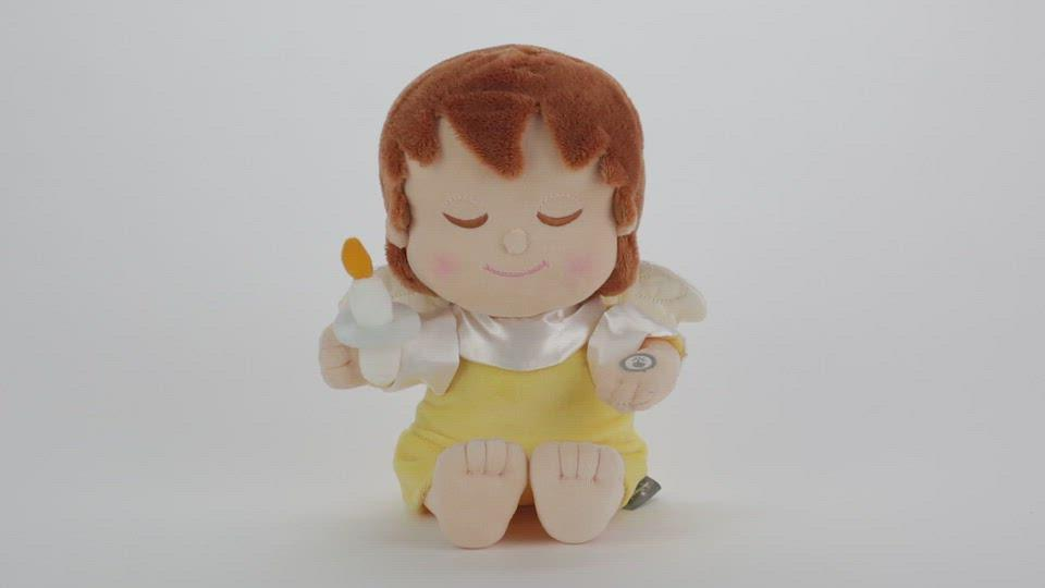 Load and play video in Gallery viewer, Mary's Angels Angel Stuffed Animal With Light and Sound, 8""