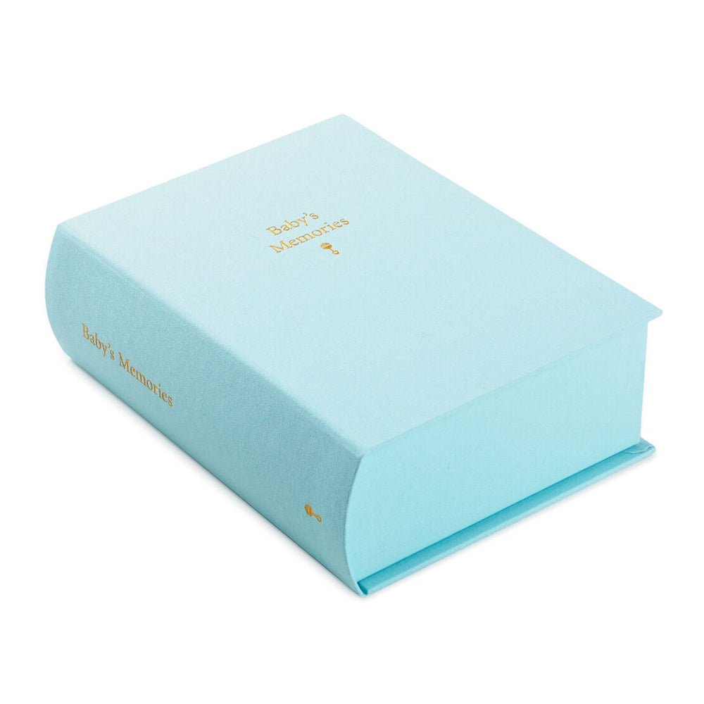 Baby's Memories Blue Memory Box