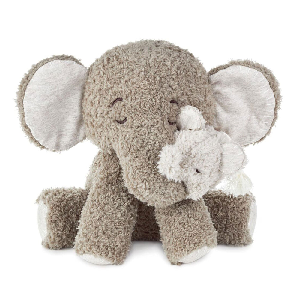Load image into Gallery viewer, Grandma and Baby Elephant Stuffed Animal Set