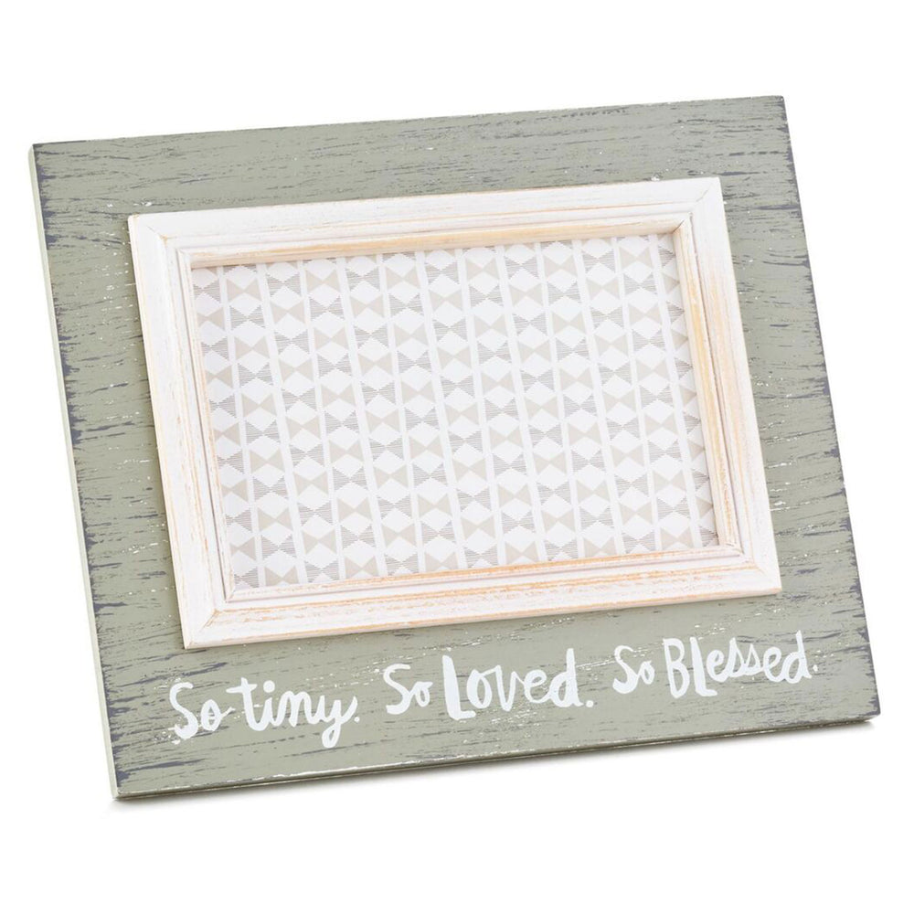 Load image into Gallery viewer, So Tiny, So Loved, So Blessed Picture Frame, 4x6