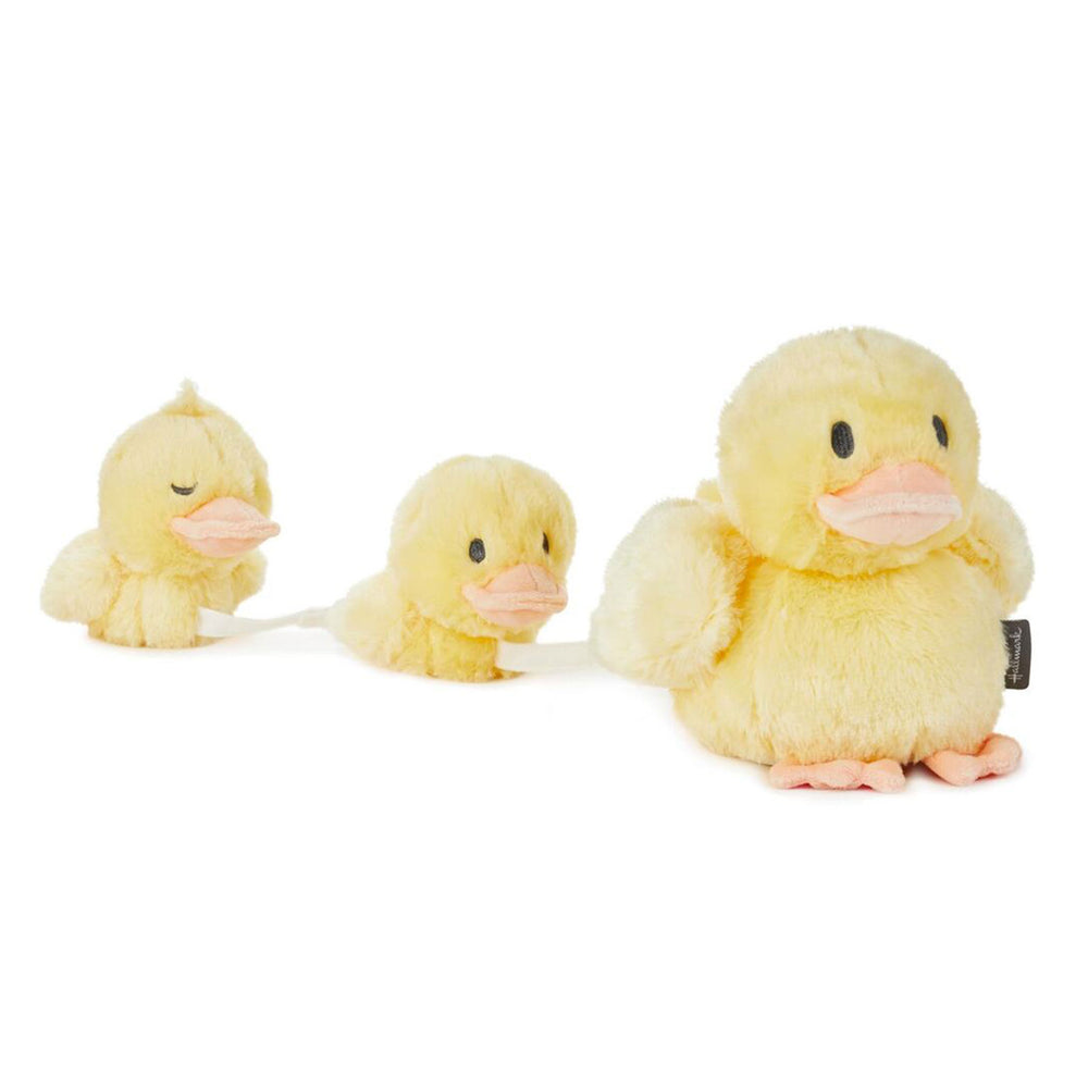 Mama and Baby Ducks Musical Stuffed Animals, Set of 3