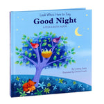 Look Who's Here to Say Good Night: A Peek-a-Book Photo Album