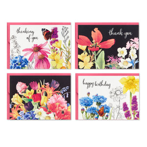 Marjolein Bastin Assorted Note Cards in Caddy