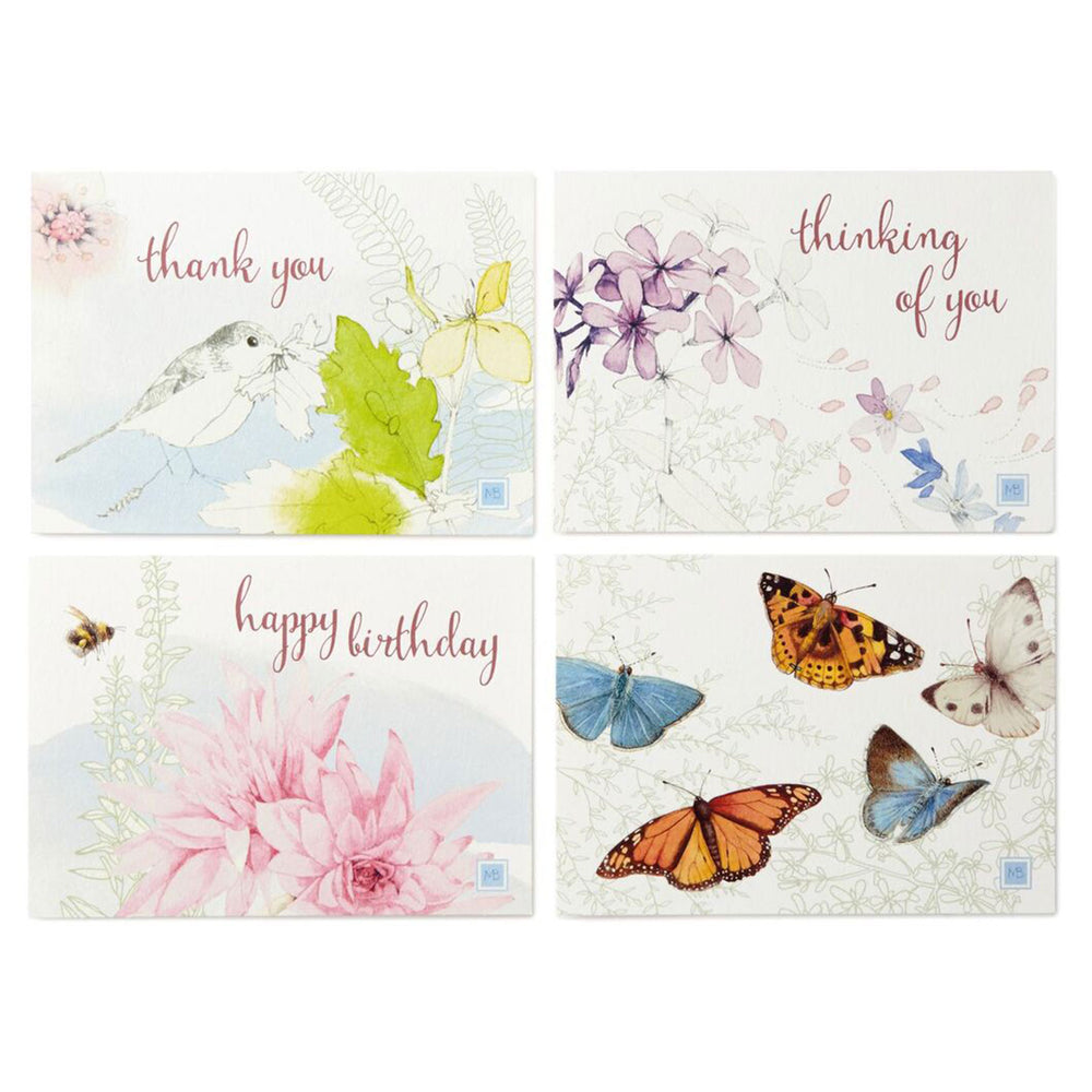 Marjolein Bastin Assorted Note Cards and Caddy
