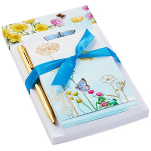 Load image into Gallery viewer, Marjolein Bastin Butterfly Garden Memo Pads 3-Pack With Pen